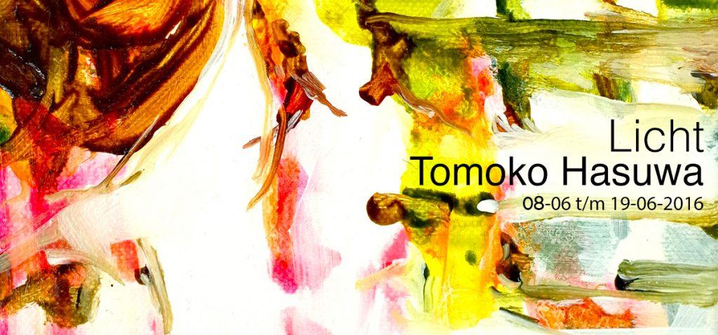 voorzijde uitnodiging Tomoko Hasuwa