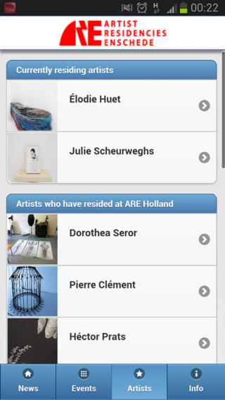 APP of ARE Holland  now available for Apple, Android en IOS smartphones