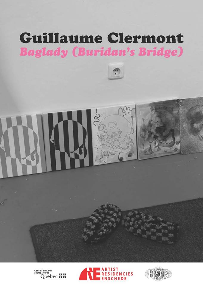 """<strong> Exhibition """"Baglady (Buridan's Bridge)"""" by ARE guest Guillaume Clermont </strong>"""